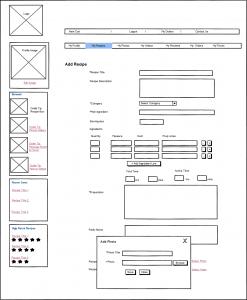 Bonnosh Wireframe Design