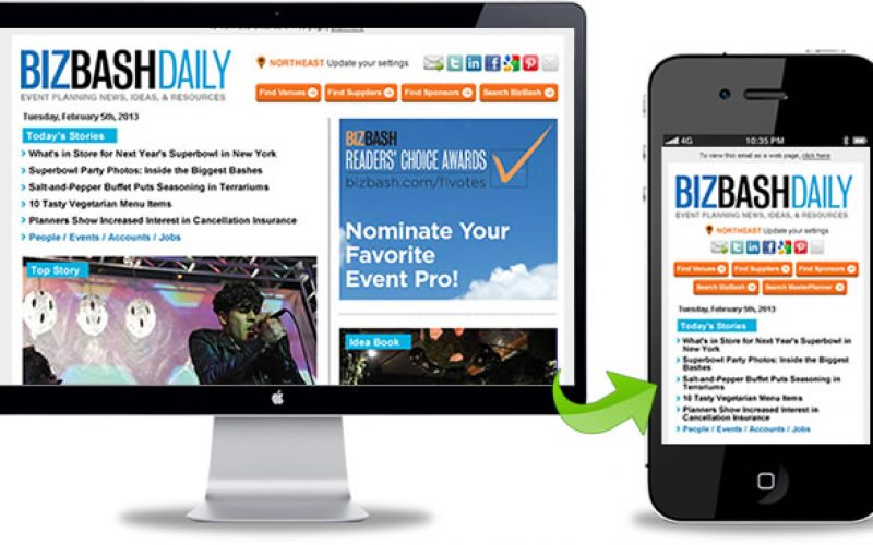 Mobile friendly responsive email newsletter design is the future