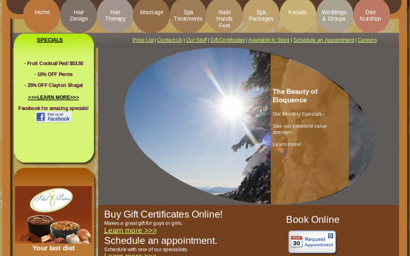 Custom online booking system for Spa & Salon – Launched