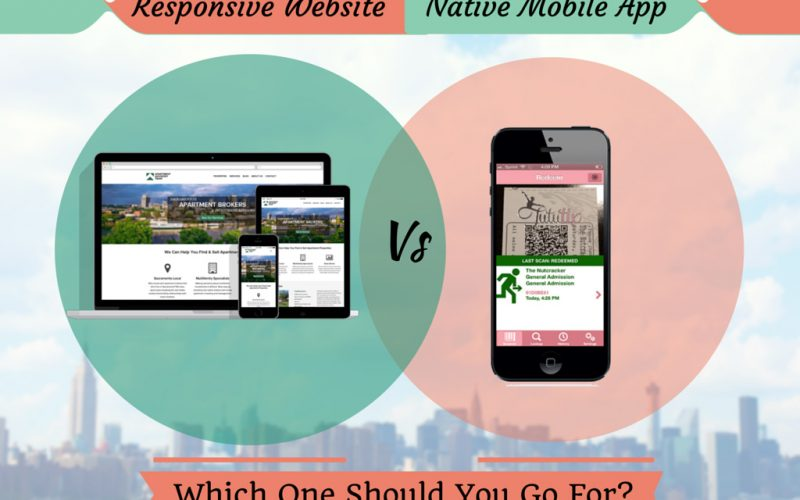 Responsive Website vs. Native Mobile App – which one should you go for?