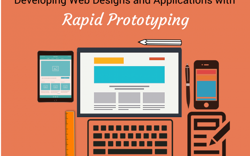 Developing Web Designs and Applications with Rapid Prototyping