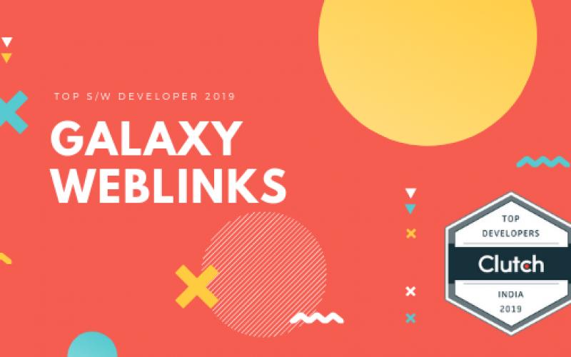 Galaxy Weblinks on Clutch 2019 List!