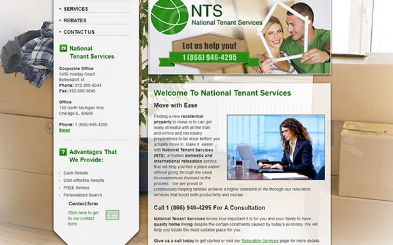 Case study – custom CRM solution for National Tenant Service
